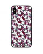 Hello Kitty Multiple Bows iPhone X Skin