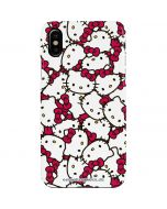 Hello Kitty Multiple Bows Pink iPhone XS Lite Case