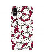 Hello Kitty Multiple Bows Pink iPhone XS Max Pro Case