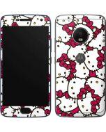 Hello Kitty Multiple Bows Pink Moto G5 Plus Skin