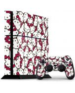 Hello Kitty Multiple Bows Pink PS4 Console and Controller Bundle Skin