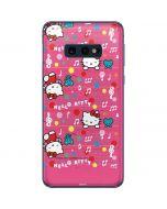 Hello Kitty Music Pattern Galaxy S10e Skin