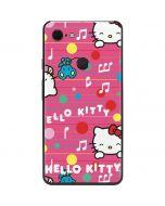 Hello Kitty Music Pattern Google Pixel 3 XL Skin