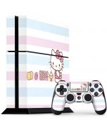 Hello Kitty Pastel PS4 Console and Controller Bundle Skin
