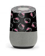 Hello Kitty Pattern Google Home Skin