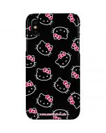 Hello Kitty Pattern iPhone XS Max Lite Case