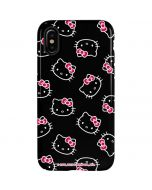 Hello Kitty Pattern iPhone XS Max Pro Case