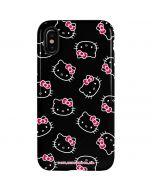 Hello Kitty Pattern iPhone XS Pro Case