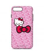 Hello Kitty Pink Bow Peek iPhone 7 Plus Pro Case