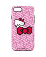 Hello Kitty Pink Bow Peek iPhone 8 Pro Case