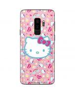 Hello Kitty Pink, Hearts & Rainbows Galaxy S9 Plus Skin