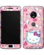 Hello Kitty Pink, Hearts & Rainbows Moto G5 Plus Skin