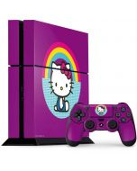Hello Kitty Rainbow PS4 Console and Controller Bundle Skin