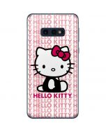 Hello Kitty Repeat Galaxy S10e Skin