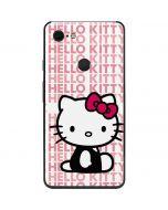 Hello Kitty Repeat Google Pixel 3 XL Skin