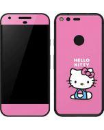 Hello Kitty Sitting Pink Google Pixel Skin