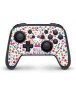 Hello Kitty Smile White Nintendo Switch Pro Controller Skin