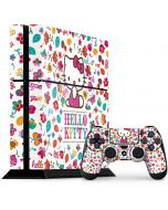 Hello Kitty Smile White PS4 Console and Controller Bundle Skin