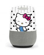 Hello Kitty Waving Google Home Skin