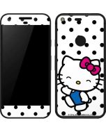 Hello Kitty Waving Google Pixel Skin