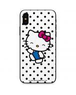 Hello Kitty Waving iPhone X Skin