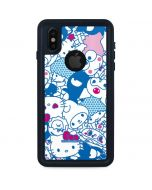 Hello Sanrio Blue Blast iPhone XS Waterproof Case