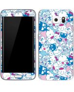 Hello Sanrio Blue Blast Galaxy S6 Edge Skin