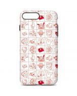Hello Sanrio Outline iPhone 7 Plus Pro Case