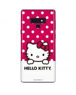 HK Pink Polka Dots Galaxy Note 9 Skin