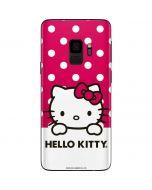 HK Pink Polka Dots Galaxy S9 Skin