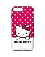 HK Pink Polka Dots iPhone 8 Plus Pro Case