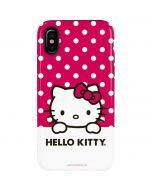HK Pink Polka Dots iPhone XS Pro Case