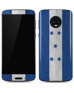 Honduras Flag Distressed Moto G6 Skin