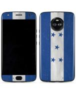 Honduras Flag Distressed Moto X4 Skin
