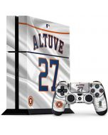 Houston Astros Altuve #27 PS4 Console and Controller Bundle Skin