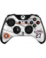 Houston Astros Altuve #27 Xbox One Controller Skin