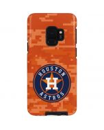 Houston Astros Digi Camo Galaxy S9 Pro Case