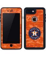 Houston Astros Digi Camo iPhone 7 Plus Waterproof Case