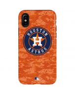Houston Astros Digi Camo iPhone X Pro Case