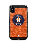 Houston Astros Digi Camo iPhone XS Max Cargo Case