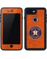 Houston Astros Distressed iPhone 7 Plus Waterproof Case