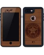 Houston Astros Engraved iPhone 7 Plus Waterproof Case