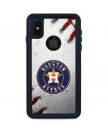 Houston Astros Game Ball iPhone X Waterproof Case