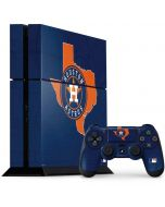 Houston Astros Home Turf PS4 Console and Controller Bundle Skin