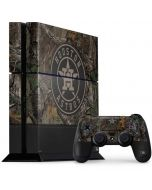 Houston Astros Realtree Xtra Camo PS4 Console and Controller Bundle Skin