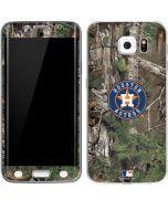 Houston Astros Realtree Xtra Green Camo Galaxy S6 Edge Skin