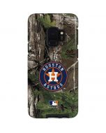 Houston Astros Realtree Xtra Green Camo Galaxy S9 Pro Case