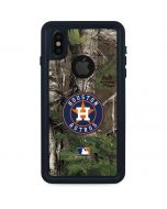 Houston Astros Realtree Xtra Green Camo iPhone X Waterproof Case