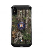 Houston Astros Realtree Xtra Green Camo iPhone XS Max Cargo Case