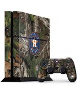 Houston Astros Realtree Xtra Green Camo PS4 Console and Controller Bundle Skin